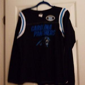 Carolina Panthers womens long sleeved shirt